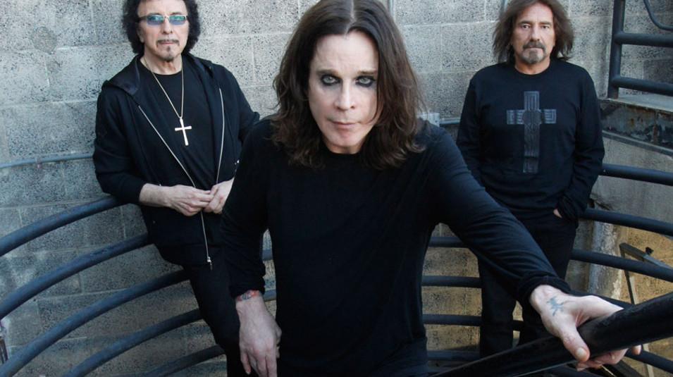 Black Sabbath group shot