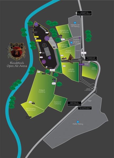 Bloodstock map