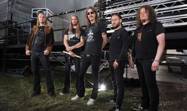 Opeth Backstage