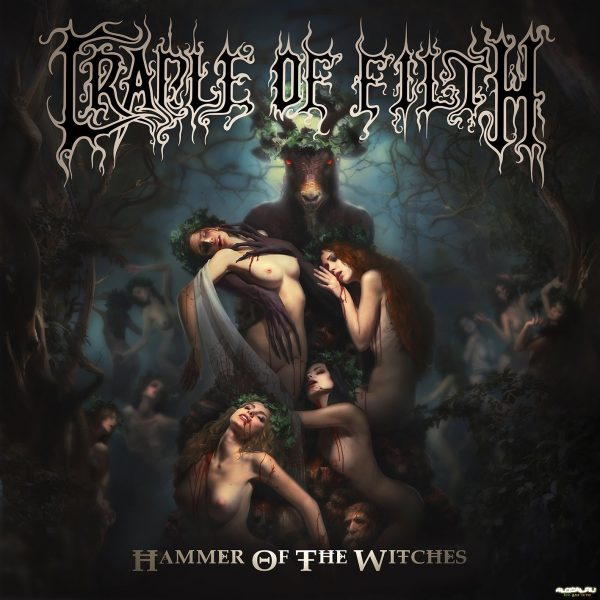 cradle of filth hammer of the witches cover