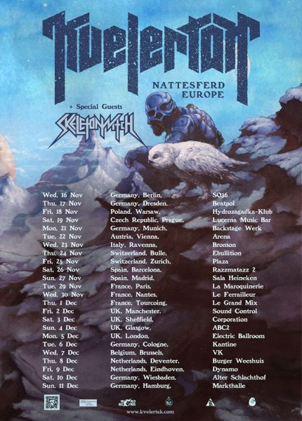 kvelertak-tour-2016