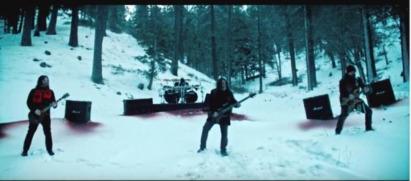 Slayer in snow