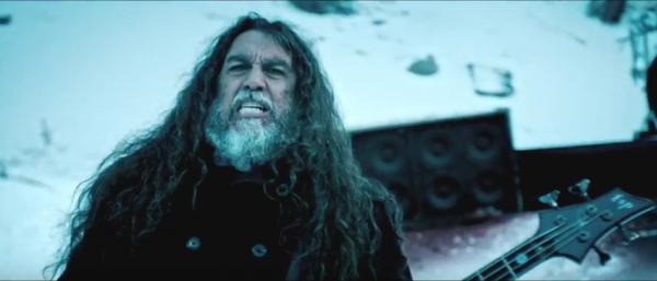 Slayer Tom Araya Video shoot