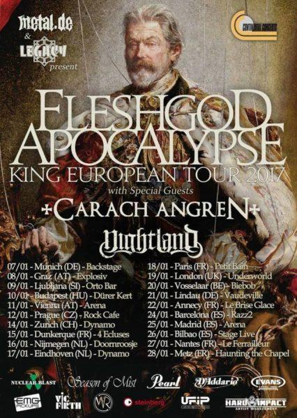 FLESHGOD APOCALYPSE TOUR