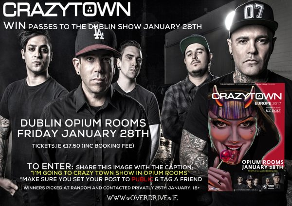 CRAZY TOWN (OPIUM ROOMS DUBLIN) VENTURE PRESENTS COMP