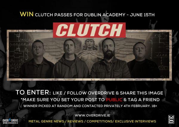 Clutch Dublin 2017 -