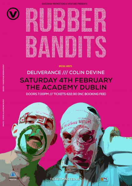 RUBBERBANDITS DUBLIN ACADEMY FEB 4TH