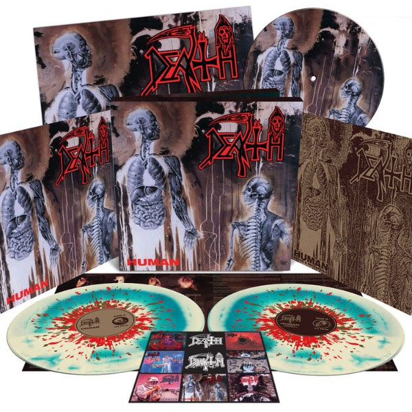 Death vinyl reissue