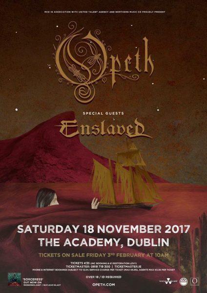 Opeth Academy Dublin