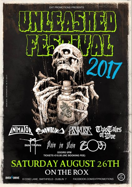 unleashed festival poster