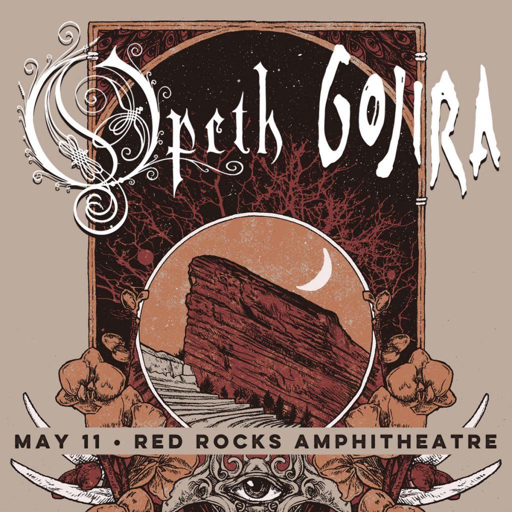Gojira Red Rocks Opeth