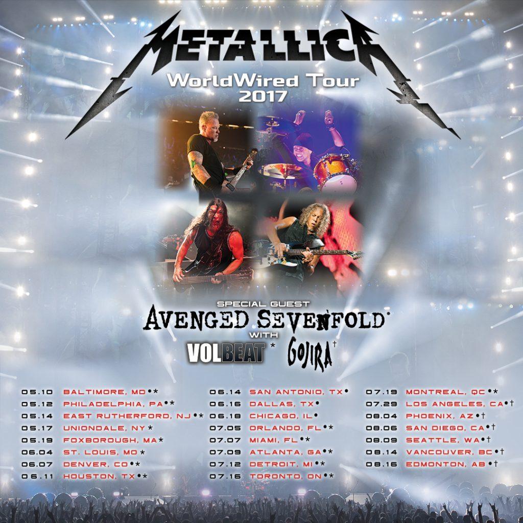 Metailla Gojira tour