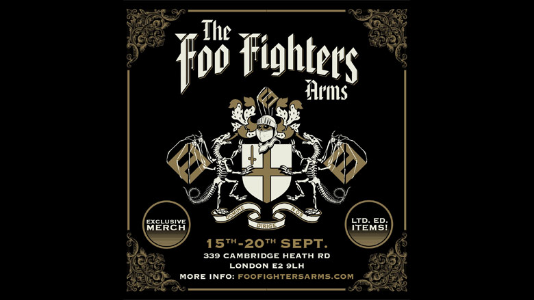 foo fighters arms