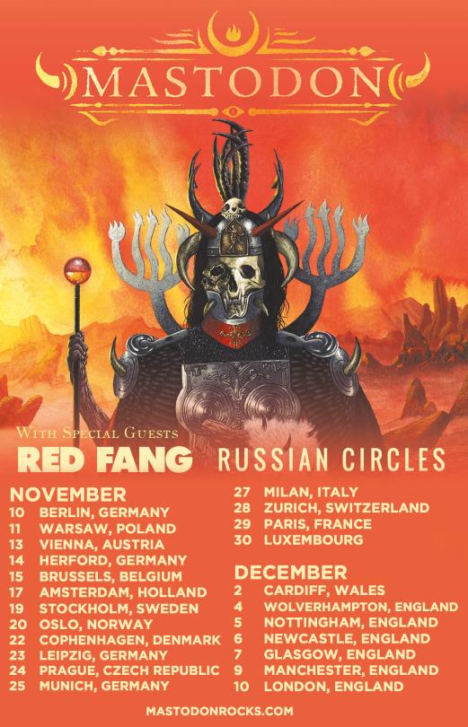 Red Fang : Mastodon Tour 2017