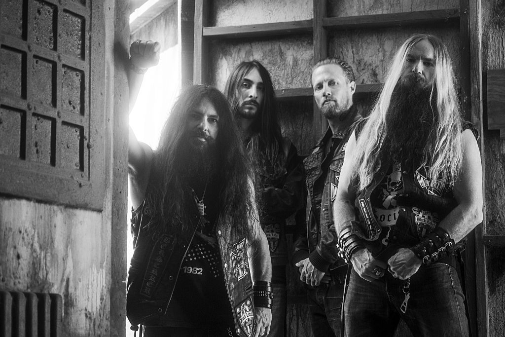 black label society band photo