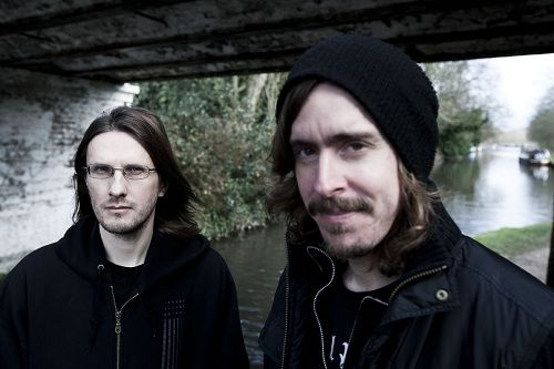 © Naki Kouyioumtzis. Storm Corrosion, album shoot. Steven Wilson of Porcupine Tree and Mike Akerfeldt of Opeth