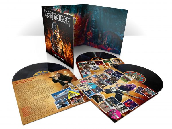 Iron Maiden THe Book of Souls - Live Chapter triple-vinyl-packshot