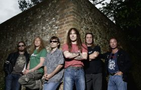 Iron Maiden band photo