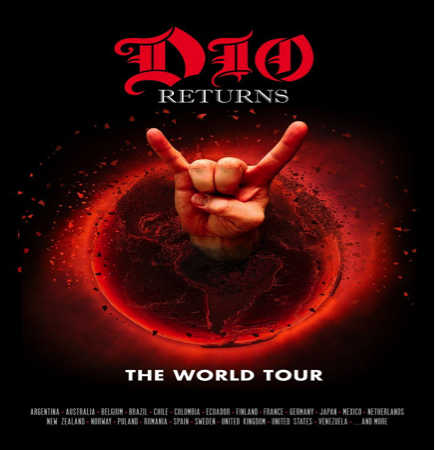 DIO HOLOGRAM TOUR