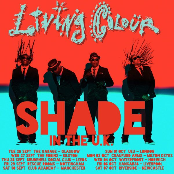 LIVING COLOUR TOUR 2017