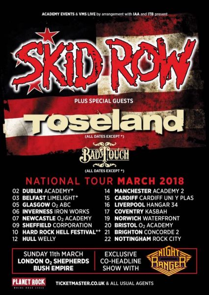Skid Row March Tour