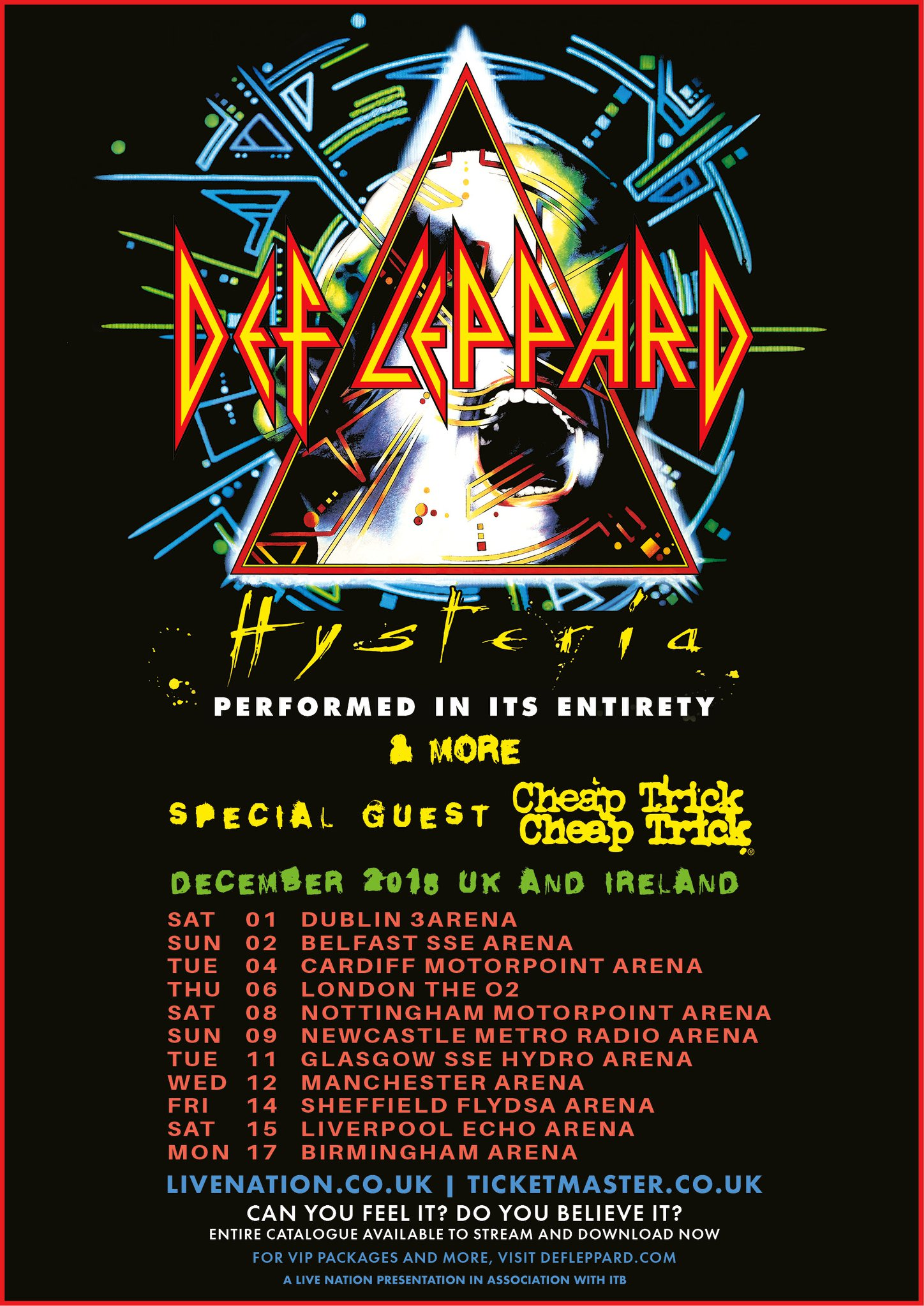 Def Leppard Tour Posters