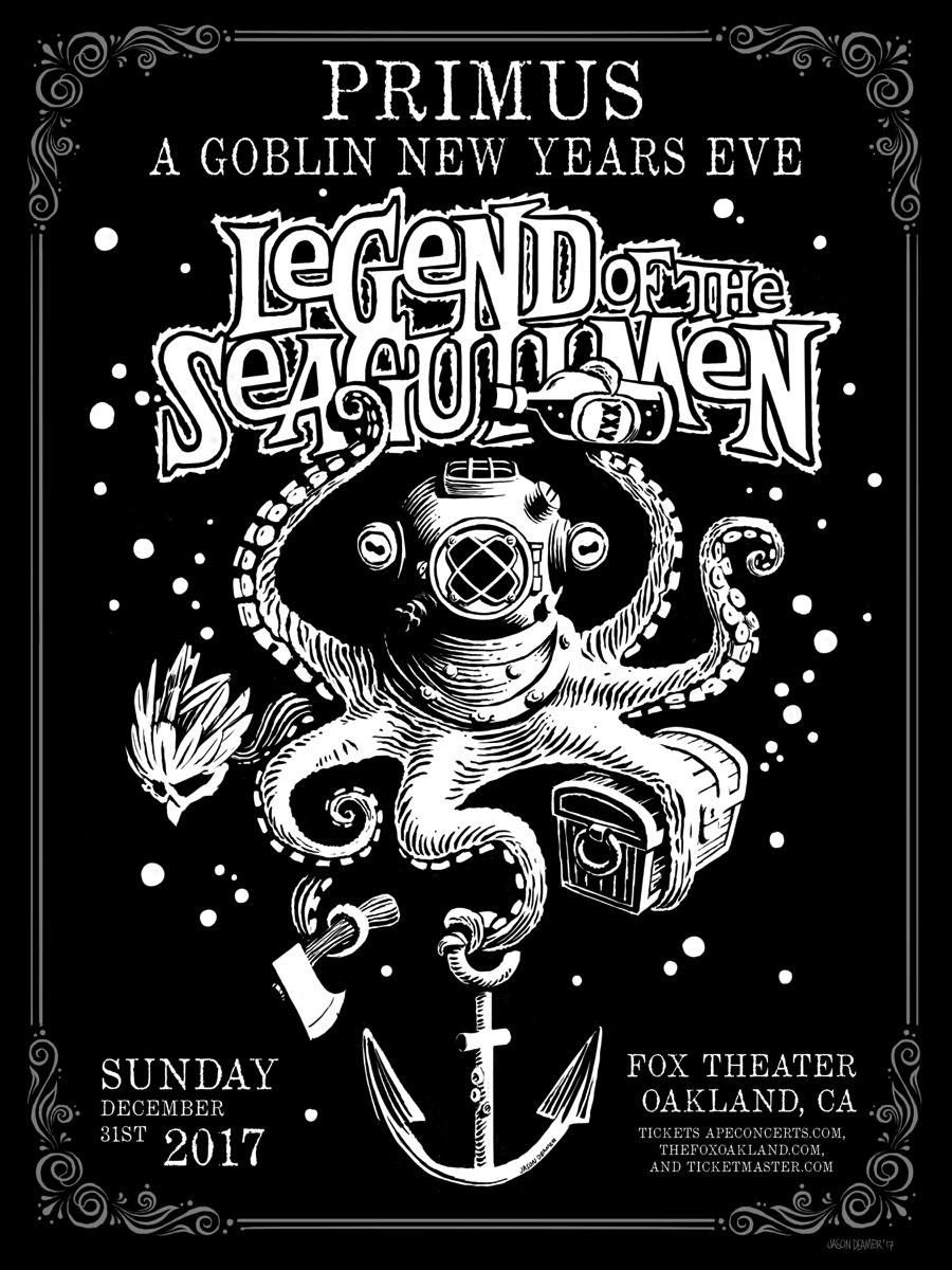 Legend of the Seagullmen poster