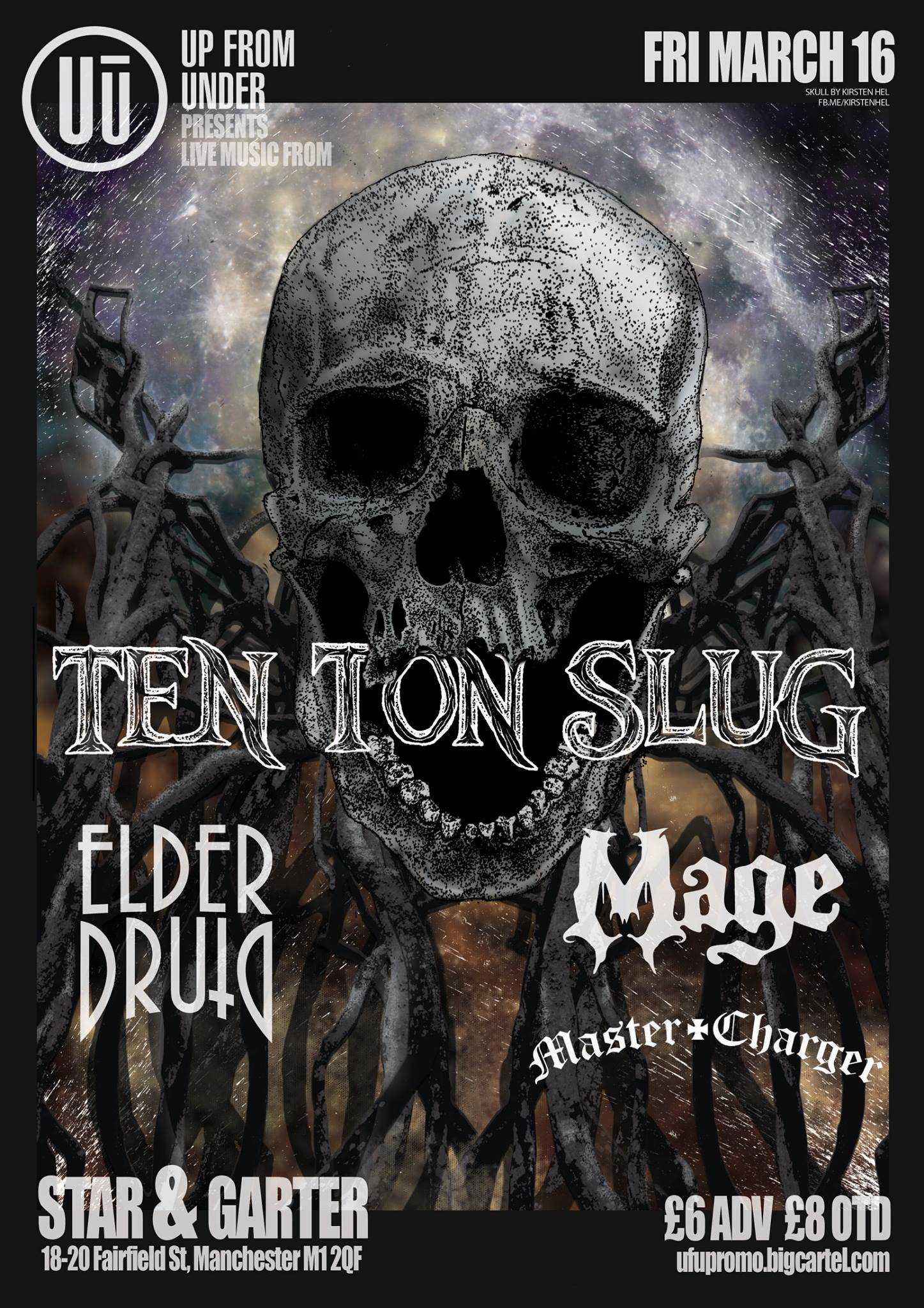 Slug Manchester poster