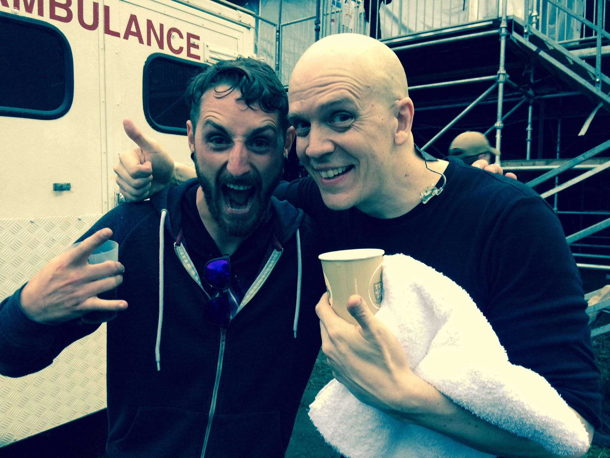 DAN WITH DEVIN TOWNSEND