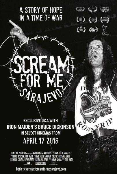 Scream For Me Sarajevo Poster Portrait