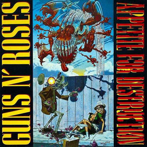 Guns N Roses Appetite