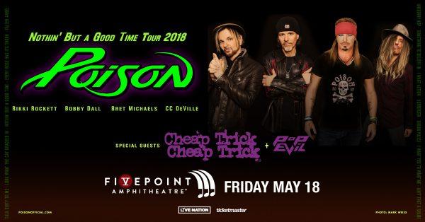 Poison tour 2018