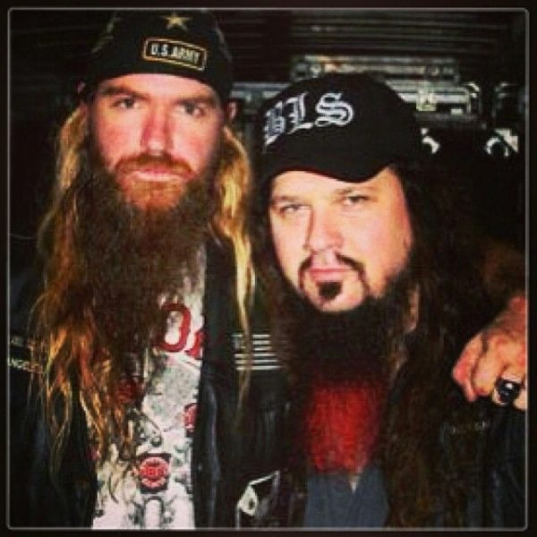 dime and Zakk Wylde, pantera, black label society