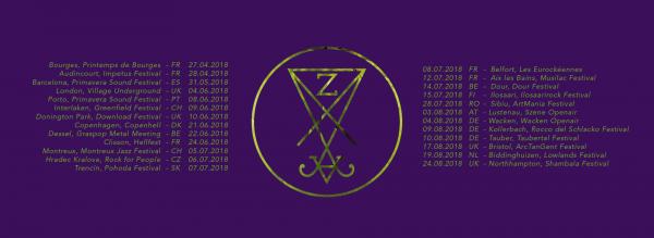 Zeal & Ardor tour dates