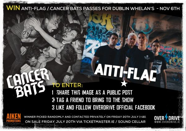 ANTI-FLAG - CANCER BATS COMP