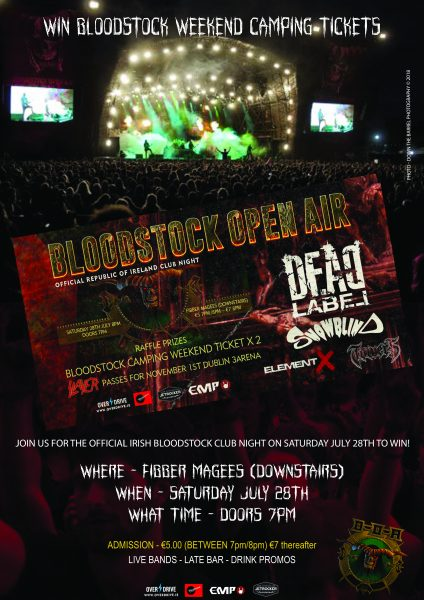 Win Full Weekend Bloodstock Camping tickets by clicking here!