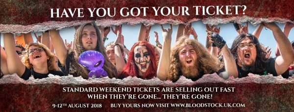Get your Bloodstock Tickets by clicking here!