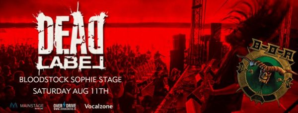Click here for Dead Label at this years Bloodstock Festival.