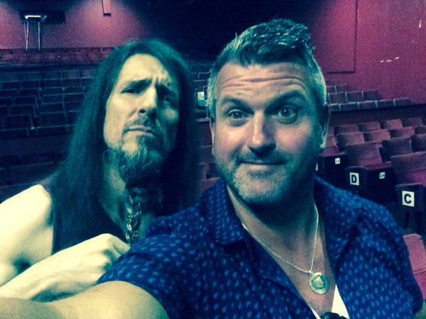 Oran O'Beirne (Overdrive.ie) & Ron 'Bumblefoot' Thal (Guns n' Roses, Sons of Apollo)
