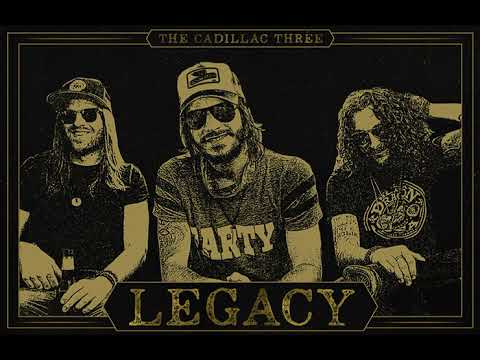 the cadillac three 'legacy' cover