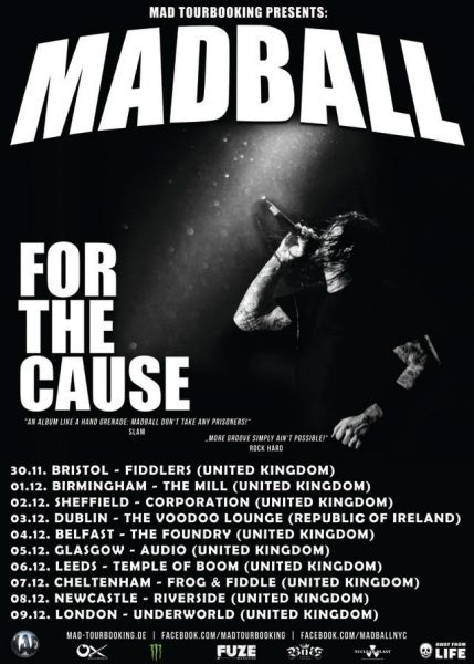 madball tour poster amended
