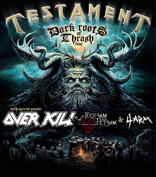 Testament Overkill Tour