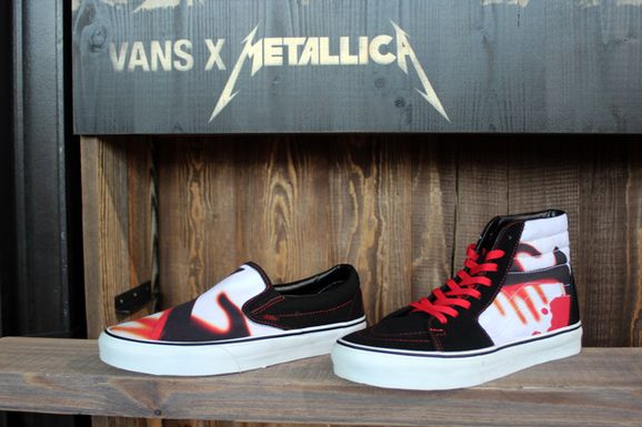 52f2426955 Metallica shoes  - Overdrive