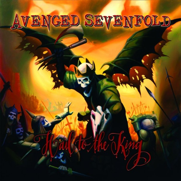 Avenged Sevenfold Hail To The King album packshot Resized