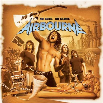 Airbourne Album covers