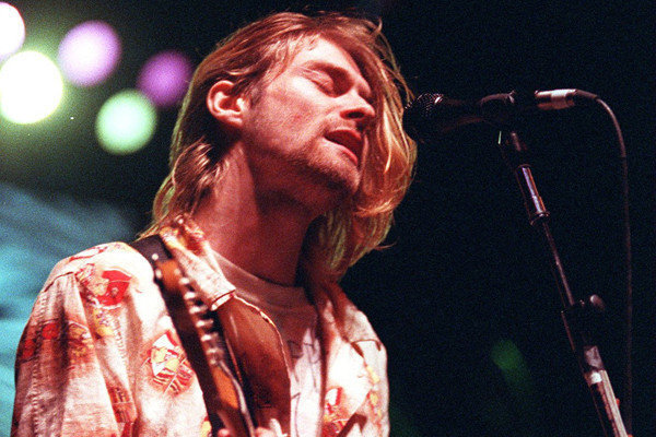 KURT COBAIN – NIRVANA IN CONCERT