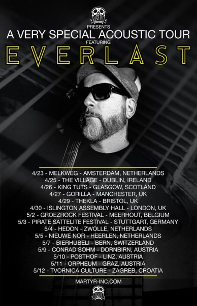 EVERLAST FULL TOUR POSTER