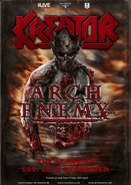 Kreator & Arch Enemy Dublin