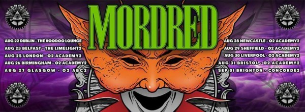 Mordred Tour Banner