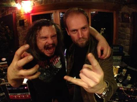 Amon  Amarth & Andy Sneep